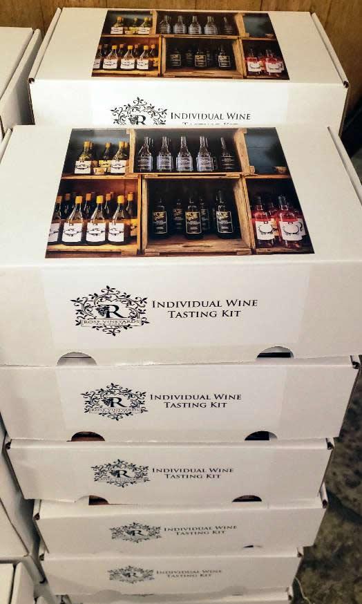 Individual Wine Tasting Kit
